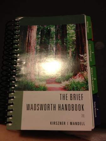 The Brief Wadsworth Handbook 7E