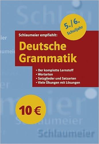 Deutsche Grammatik 56 Schuljahr Der Komplette Lernstoff