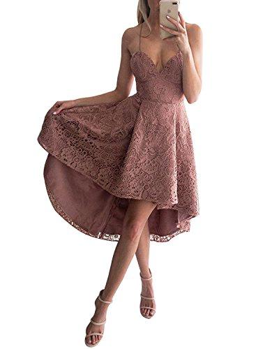 Rosa Vestido Para Mujer Básico Abyoxi qX164vX