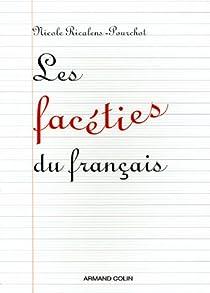 Les facéties du français par Ricalens-Pourchot