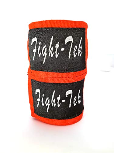 Fight-Tek Mexican Style Boxing Handwraps 180″ with Secure Enclosure – for Martial Arts Muay Thai Kickboxing Boxing and MMA – Men and Women