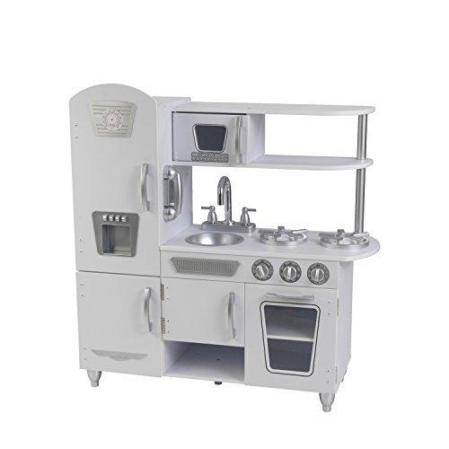 41APPxxPnLL - KidKraft Vintage Kitchen - White