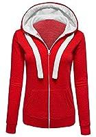 RRINSINS Women Lightweight Thermal Knitted Full Zip-up Hoodie Jacket