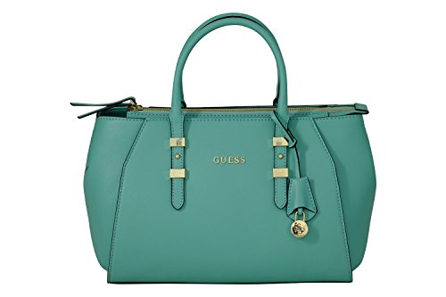GUESS SISSI BOX SATCHEL HWSISSP6109 RED Verde acqua
