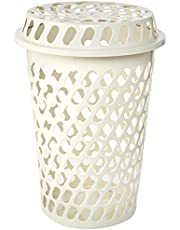 Cosmoplast Plastic Round Laundry Bin