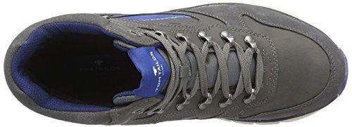 TOM TAILOR Tom Tailor Herrenschuhe - zapatillas deportivas altas de material sintético hombre gris - Grau (tar)
