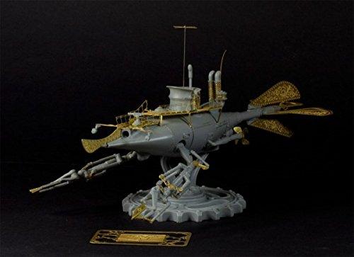 Alliance Model Works 1:144 Steam Punk Submarine Resin Kit #FW001 5