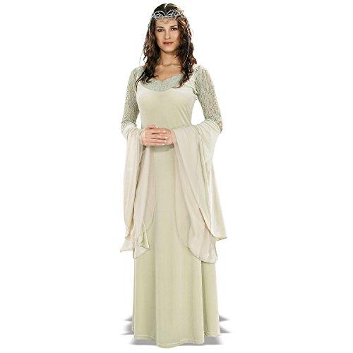 Queen Arwen Deluxe Costumes (Deluxe Queen Arwen Costume - Standard - Dress Size 6-12)