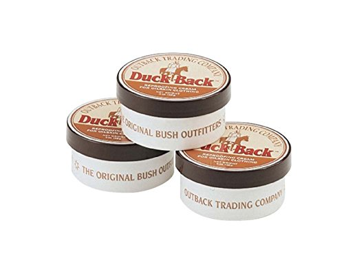Outback Trading Company Duck Back Oilskin Reproofing Cream 3 Pack by Outback Trading