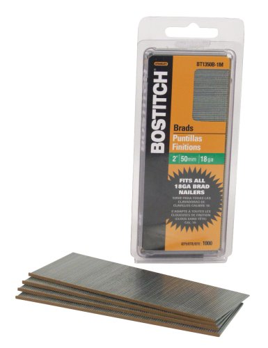 BOSTITCH. BT1350B-1M 2-Inch 18-Gauge Brads, 1000 per Box