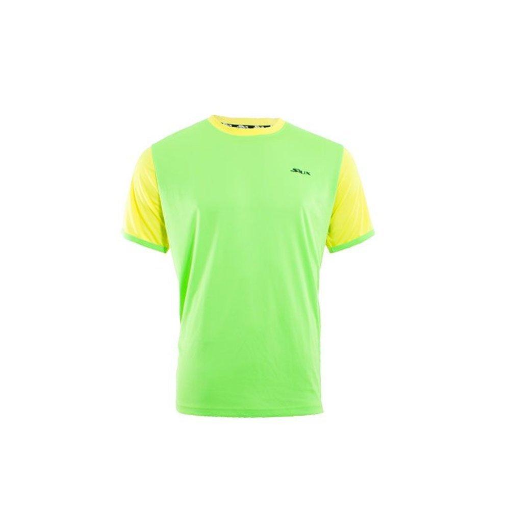 Siux Camiseta Hermes NIÑO Verde Amarillo: Amazon.es: Deportes y ...