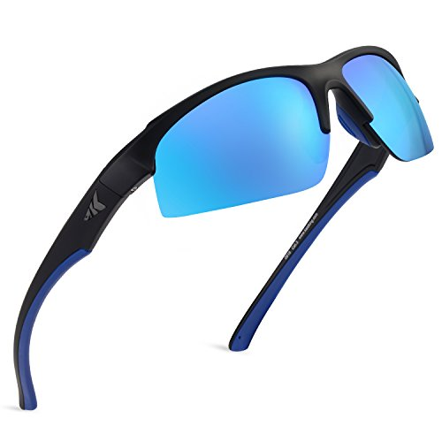 (KastKing Cuivre Polarized Sport Sunglasses for Men and Women,Ideal for Driving Fishing Cycling and Running,UV Protection)