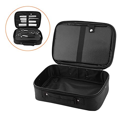 Hairdressing Tools Storage Carrying Case, Professional Multi-functional Hair Stylist Hairdresser Designer Session Bag Large Mobile Beauty Cosmetics Toiletry Organizer Holder from ZJchao