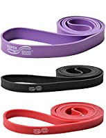 Superband 3er Set Level 1-3 Gymnastikband Fitness Band Übungsband Training