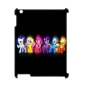 LSQDIY(R) My Little Pony iPad2,3,4 Customized 3D Case, Unique iPad2,3,4 Durable 3D Case My Little Pony