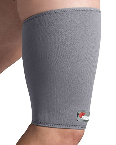 Swede-O 74002 Thermal MVT2 Hamstring Thigh Support, Small, Gray