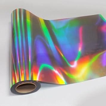 stickerslab – Protector adhesivo efecto holográfico cromado Silver corte al Plotter 100 cm: Amazon.es: Bricolaje y herramientas