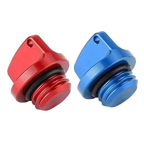 - Aramox Oil Filler Cap, 2Pcs CNC Aluminum Oil Filler Caps Plugs Covers for Honda CRF150R CB250F Yamaha Kawasaki Suzuki