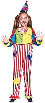 Disfraz Payasa Arco Iris Niña (7-9 años) (+ Tallas) Carnaval ...