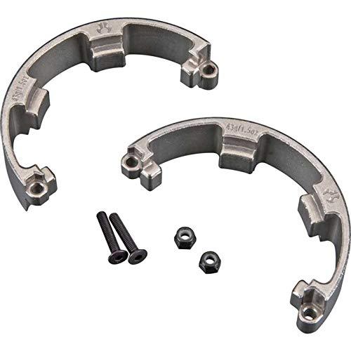 Axial Beadlock Rings (Axial AX30547 1.9 Internal Wheel Weight Ring (2-Piece), 43g/1.5-Ounce)