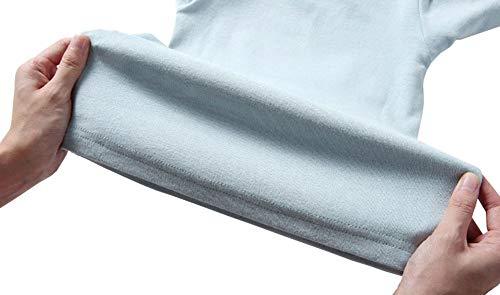 32c5ea289 Toddler Boys Girls Thermal Underwear Long Sleeve T-Shirt Leggings 2Pcs Kids  Winter Base Layer