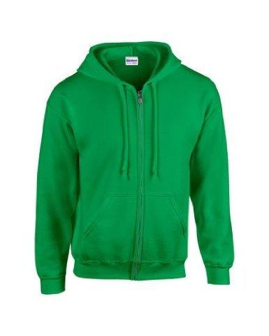 Gildan Irish Felpa Uomo Con Green Cappuccio rSrAan0
