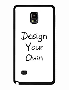 Samsung Galaxy Note 4 Case Cover, Custom Design Cell Phone Case Basketball Logo Series Geometric Printed Trendy Tough Case