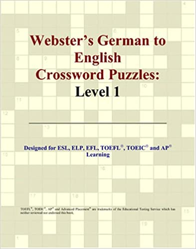 Webster's German to English Crossword Puzzles: Level 1