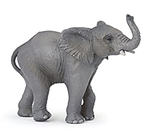 Papo Young Elephant Figure, Multicolor