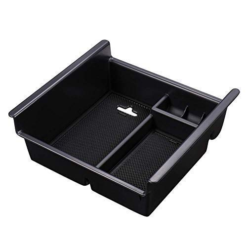 Out Center Console - SUNKISSED For Toyota 4Runner 2010-2019 Car Center Console Organizer Tray Accessories,Device Armrest Box Secondary Storage Insert ABS Black Material Sundries Container Easy Install
