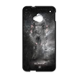 Protective TPU cover case Crysis HTC One M7 Cell Phone Case Black