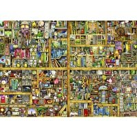 Amazoncom Wentworth Wooden Jigsaw Puzzle Shelf Life 500 Piece