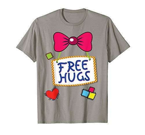 Last Minute Diy Womens Halloween Costumes (Halloween Clown T-Shirt DIY Costume Fun For Man Woman &)