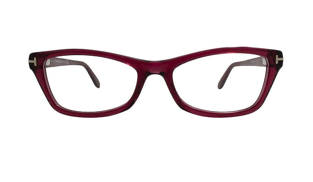 97870f53760f TOM FORD Eyeglasses FT5265 068 Red 53MM at Amazon Men s Clothing store   Prescription Eyewear Frames