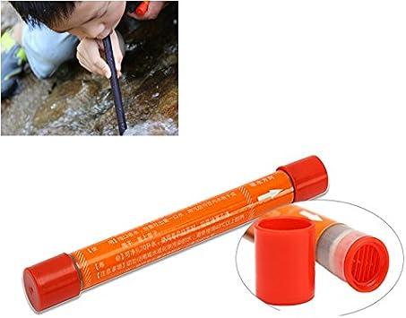 Purificateur D/'eau Portable en plein air de Randonnée /& Camping d/'urgence Survie