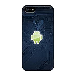 Snap-on Case Designed For Iphone 5/5s- Android Techno