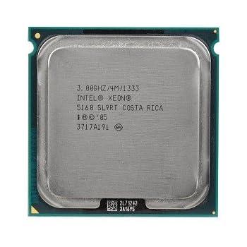 amazon com intel xeon 5160 3 0ghz 1333mhz 2x2mb socket 771 dual