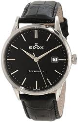 Edox Men's 70162 3 NIN Date Les Vauberts Watch