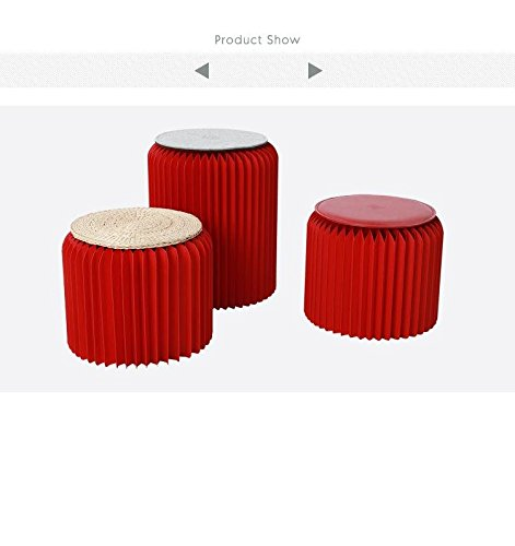 Creative living room coffee table small stools