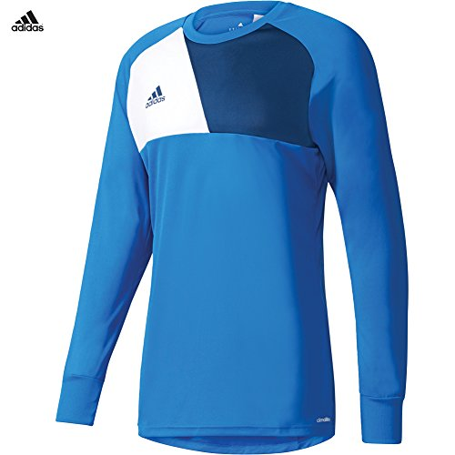 - adidas ASSITA 17 Long Sleeve Goalkeeper Jersey Blue/White for Soccer