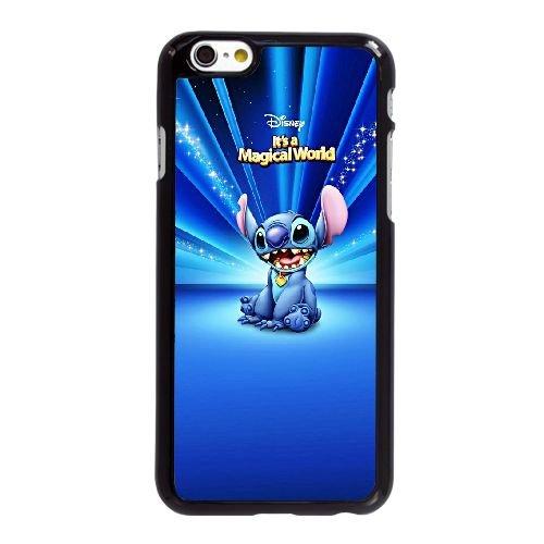 F8Q65 Disney Lilo et Stitch A6R6EI coque iPhone 6 4.7 pouces cas de couverture de téléphone portable coque noire KU3SGH6WL