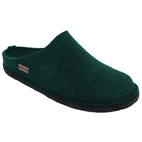 Felt Flair Womens Wool Sandals Haflinger Verde Soft 54vwqx1I