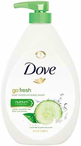 Dove go fresh Body Wash, Cucumber and Green Tea Pump 34 oz