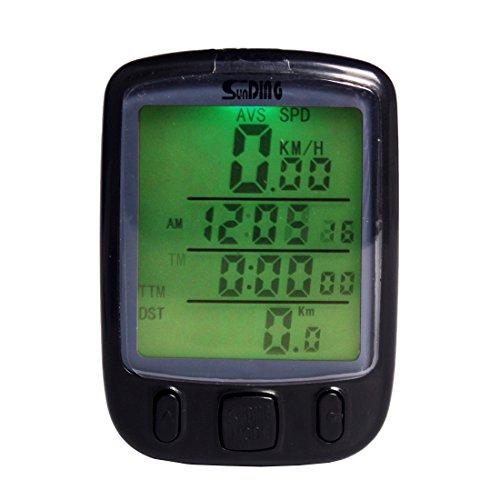 Andux Waterproof Wireless Bicycle Speedometer - 1