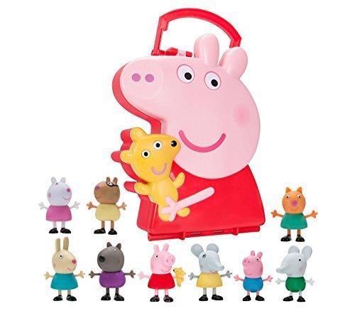Peppa Pigs Carry Along Friends (Includes 10 Figures) [並行輸入品]   B07C2N927N
