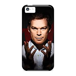 JacquieWasylnuk Apple Iphone 5c Shock-Absorbing Cell-phone Hard Cover Unique Design Trendy Dexter Movie Wonderful Image [IrP3606NKQK]