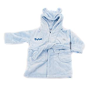Kids Personalised Dressing Gown2