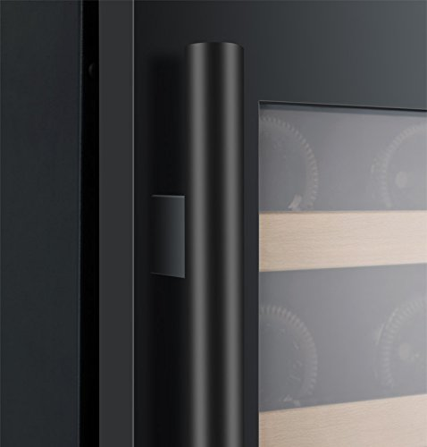 Allavino FlexCount 2X-VSWR56-1BWT 112 Bottle Dual Zone Wine Coolers - Side by Side - Black Doors by Allavino (Image #7)