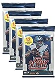 #9: Panini 2017-2018 Score NFL Football Trading Cards Retail Factory Sealed 4 Pack