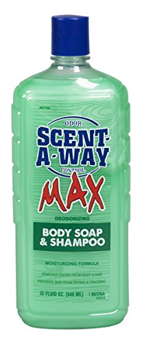 Hunters Specialties Scent-A-Way MAX 32oz Liquid Body Soap & Shampoo